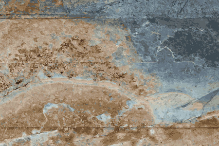 the texture of natural stone, sandstone, limestone, granite Ilustracja