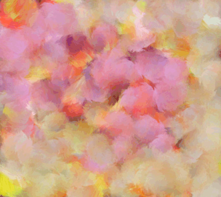 Abstract colorful hand drawn   background. oil painting on canvas Illustration
