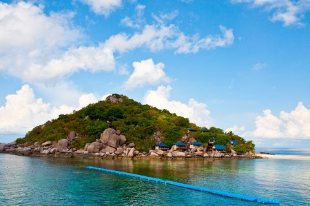 nangyuan: Nangyuan Island of Thailand Stock Photo