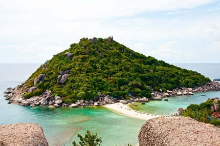 Nangyuan Island of Thailand Stock Photo