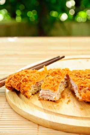 Japanese deep fried pork