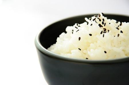 Japanese rice with sesame