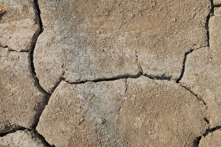 Drought. The background of dry land for design. Stock Photo - 140620390