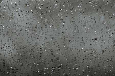 Water drops on car. Background. Drops of rain