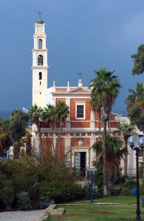 yaffo: St. Peters Church in old city of Jaffa, Tel Aviv, Israel