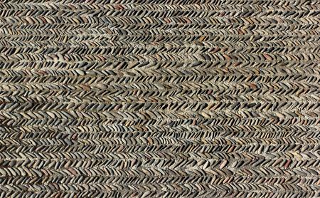 Pebble pavement pattern -  stone mosaic background Banco de Imagens