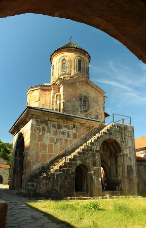 gelati: Medieval Gelati academy and monastery near Kutaisi, Georgia.