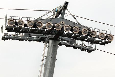 ropeway: Ropeway pylon