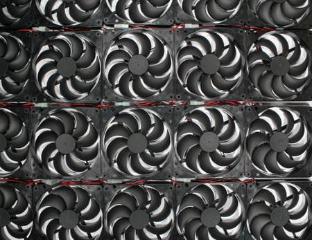 circulate: Many computer plastic cooler fans