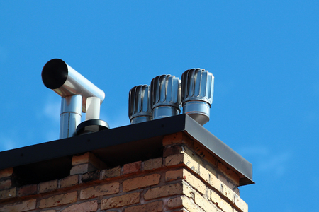 Revolving cowls eradicate downdraught in chimneys, flues and ducts