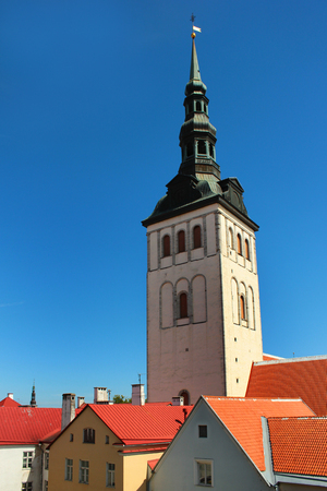 St. Nicholas Church (Niguliste) in the Old Town of Tallinn, Estonia
