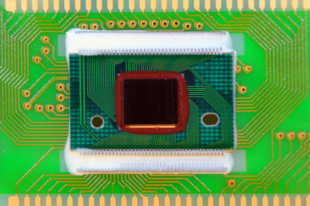 Packageless chip on printed circuit board