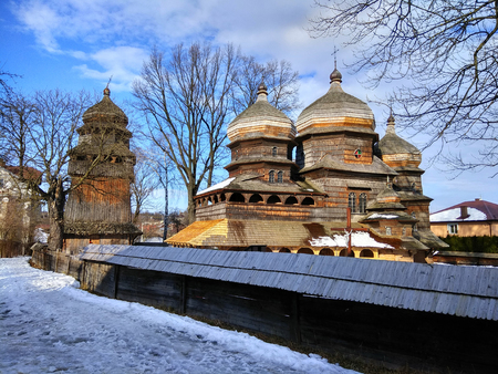ウクライナ・ドロホビッチの聖ジョージ正教会。
