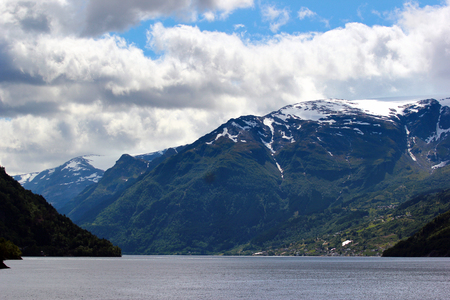 View of Hardanger fjord, Hordaland county, Norway