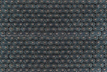 Bicycle chain as background