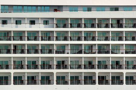 Cabins of a passenger cruise ship Фото со стока
