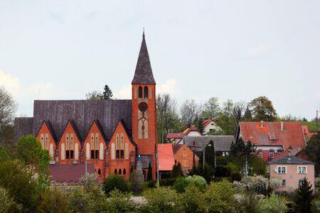 St Peter and Paul Roman Catholic Church in Dubeninki, Goldap County in northern Poland.