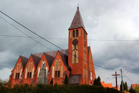St Peter and Paul Roman Catholic Church in Dubeninki, Goldap County in northern Poland.