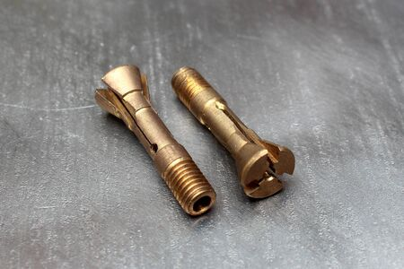 Bronze hollow screws with different hole diameters