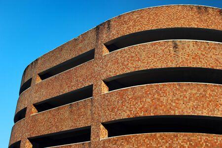Autosilo, or multistory car parking garage