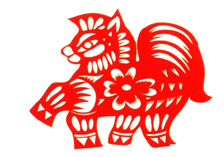 Chinese paper cut flowers zodiac ma huan stock photo picture and chinese paper cutting zodiac a horse endeavour photo mightylinksfo
