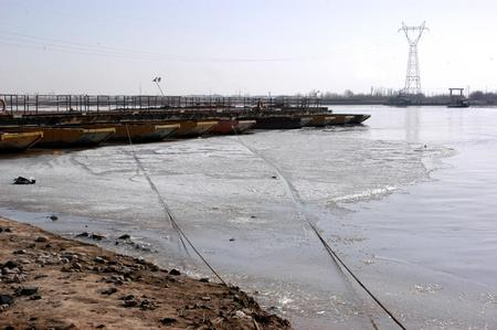 watershed: Yellow River in Ningxia