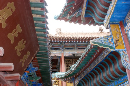 end times: Jiayuguan, west end of Great Wall, Gansu of China  Editorial