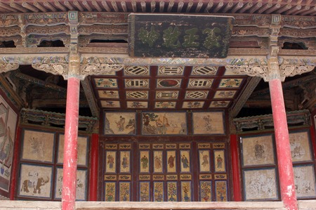 west end: Jiayuguan, west end of Great Wall, Gansu of China  Editorial