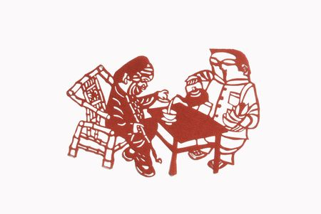 Tea for children, toys, regardless of the status of noble and humble all good Sichuanese sit Chapu: busy drinking tea, listening to storytelling, playing Wai drum, spin a yarn ... ... a ride a pit hole and made a deep comfortable leisure. Gaiwan Cha Cha w