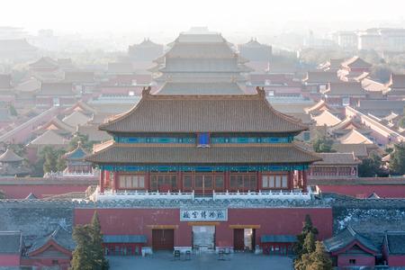 Beijing Forbidden City buildings