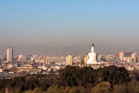 Beijing Beihai Park White Tower photo