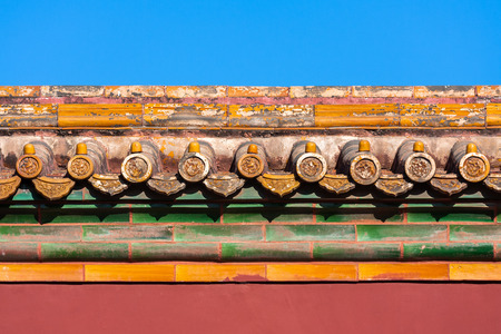 Beijing Forbidden City Building Decoration photo