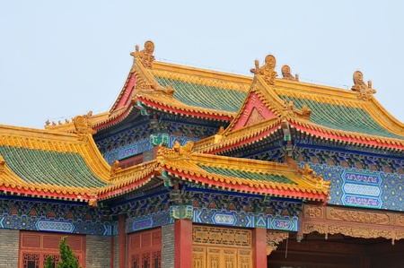 ancient architectural building