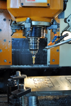 Industrial machine tool bit Stock Photo