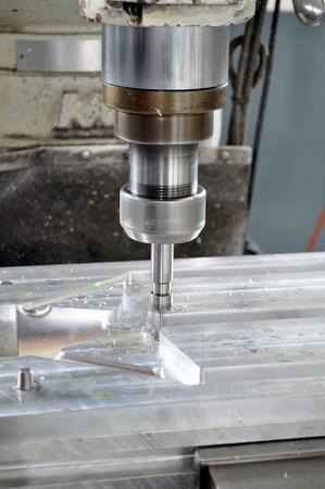 toolroom: Machine tool Stock Photo
