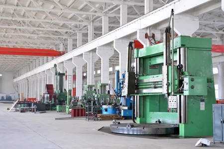 manufacturing equipment: Factory workshop