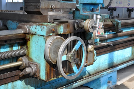 tool chuck: Machine tool Stock Photo