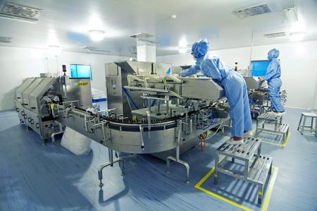 inside technology: Pharmaceutical plant