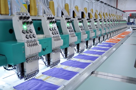 Embroidery equipment