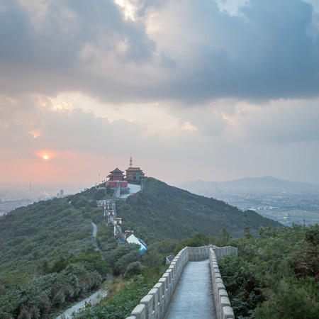the local characteristics: Huaxi Village scenery of the Great Wall