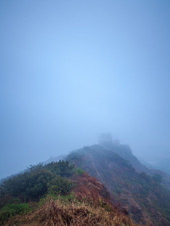 qin: Qin Lookout Mountain Nature view Stock Photo