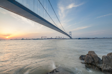 yangtze: Jiangyin Yangtze River Bridge Editorial