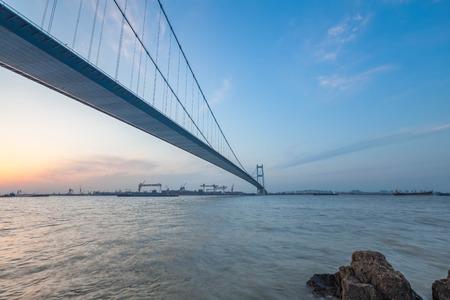 yangtze: Jiangyin Yangtze River Bridge Editorial