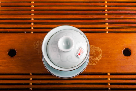 chinese tea cup: traditional Chinese tea cup