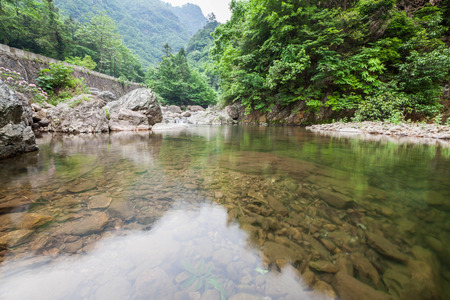 streams: Zhejiang Qingliangfeng Nature streams