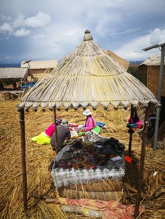 Labor in Peru, Puno, lakes and local Indians