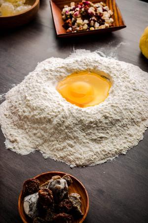 Baking ingredients Standard-Bild - 101475608