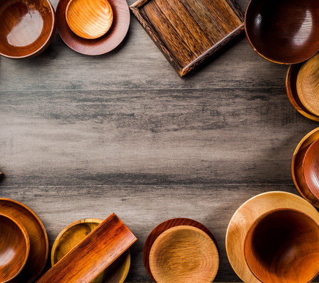 Wooden tableware