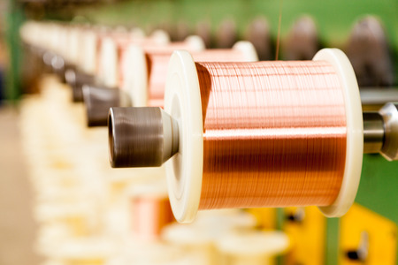 copper cable factory photo