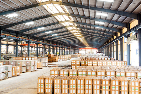 commercial: interior of a warehouse